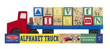Melissa and Doug * Alphabet Truck * NEW * child learning fun letter blocks