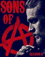 Sons of Anarchy Season 6 Six (DVD, 2014, 5-Disc Set) New