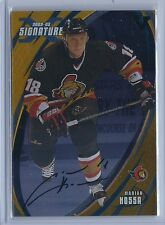 2015-2016 ITG Final Vault 02-03 Signature Series Marion Hossa Autographed Card