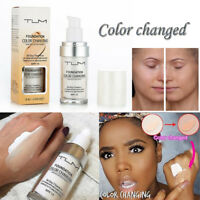 Flawless Colour Changing Foundation Makeup Base Nude Face Liquid Cover Concealer