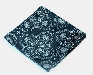 Lord R Colton Masterworks Pocket Square - Cape Horn Black & Gray Silk - $75 New