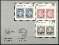 Canada 1978 SG#MS917 Capex Stamp Exhibition MNH M/S #D6558