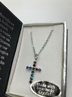 Swarovski Crystal Necklace in Gift Box