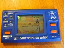 """Lcd game Lsi  """" Construction work """" game watch"""