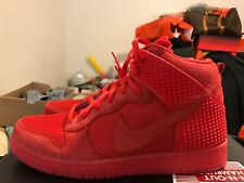 free shipping b63c4 20a53 NEW Nike Dunk CMFT PRM Size 10 Premium Solar All Red October Yeezy 705433- 601