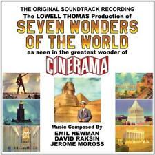 Seven Wonders Of The World (Original Soundtrack) - Emil Newman/Cinerama (NEW CD)