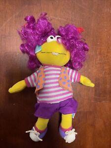 "Vintage 1999 Cinar Eden Wimzie's House WIMZIE 10"" Muppet Plush Stuffed Toy Doll"