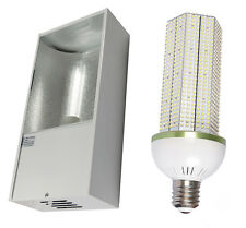 Low Bay Fitting with 40w LED Corn Light 4200 Lumen Replaces 150w SON / MH