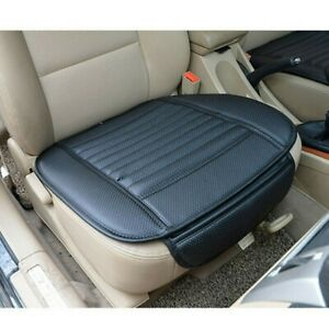 Universal Car Front Seat Cover Breathable PU leather Pad Auto Chair Cushion Mat