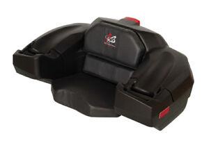 Wes 120-0020 Standard ATV Seat and Storage Box (Black)