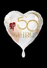 Goldene Hochzeit 50 In Partyballons Günstig Kaufen Ebay