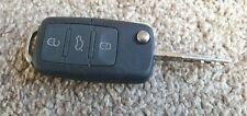 Volkswagen Golf Passat Eos etc 3 Button Remote Key Fob Keyfob