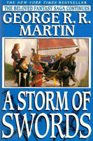 George RR Martin A Storm of Swords A Game of Thrones 3 Hardcover Book Club Editi