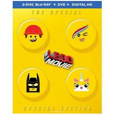 The Lego Movie- Special SPECIAL Edition Blu ray, DVD & Digital HD *Brand New*