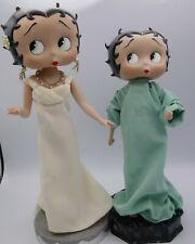 Danbury Mint Betty Boop Miss Liberty & Irresistible Syd Hap Porcelain Figurine
