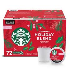 STARBUCKS LIMITED ED HOLIDAY BLEND 72 COUNT QIK SHIP AMAZING BLEND