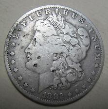 1882 O silver Morgan Dollar collector coin grades fine (#416c)