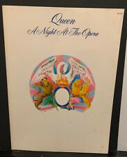 Queen A Night At The Opera Songbook rare 1976 orig. Usa press