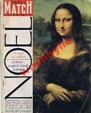 Paris Match n°715 du 22/12/1962 Noël messe catholicisme concile Vatican II