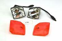 Honda GL 500 - indicatori di direzione indicatori di direzione luci destra + sin