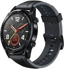 BRAND NEW HUAWEI WATCH GT - FTN-B19 - BLACK STAINLESS STEEL - SMART WATCH - 46mm