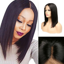 130% Brazilian Lace Front Hair Pre Plucked Short Bob Wigs Women Baby Hair Wig
