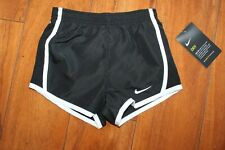 Nwt Girls Nike Sz 2T Shorts Black White