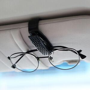 Black Car Roof Elasticity Sun Glasses Clip Clamps Holder Catcher Accessories