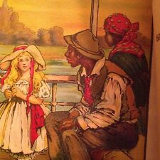 Uncle Tom's Cabin by Harriet Beecher Stowe - beautiful vintage illustrations