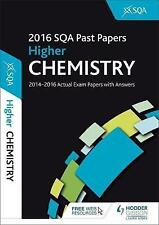 Higher Chemistry 2016-17 SQA Past Papers with Answers by SQA (Paperback, 2016)