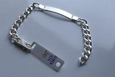 925er Silber Schildband Weitpanzer  20 cm Unisex