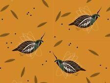 RPFCHB61 Charley Harper Mountain Quail Western Birds Organic Cotton Quilt Fabric