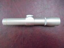 Silver Leupold M8 2X E. E.R. Handgun Scope
