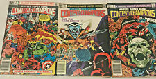 CONTEST OF CHAMPIONS#1-3 VF/NM 1982 FULL RUN MARVEL BRONZE AGE COMICS