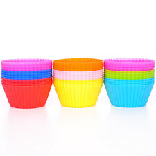 Newly 12pcs Cupcake Eliminator Silicone Cup Cake Bakeware Pastry Kitchen Gadgets