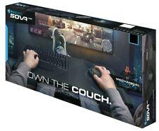 ROCCAT SOVA Gaming Lapboard USB Keyboard, MECHANICAL Brown LED Keys -PC/XBox/PS4
