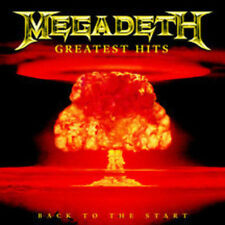 MEGADETH Greatest Hits Back To The Start CD BRAND NEW