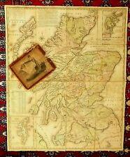 1804 Kirkwood Scotland Orkneys Shetlands Old Antique Map Slipcase Edinburgh RARE