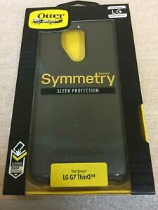 OtterBox Symmetry Series Case for LG G7 ThinQ - Black