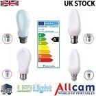 Allcam B22 lampadina LED BC E27/ES E14 4W 7W Globe/Candela Luce del giorno/