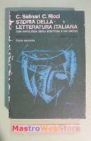 SALINARI / RICCI - STORIA DELLA LETTERATURA ITALIANA - VOLUME 3 - PARTE 2 [L104]