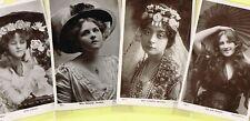 ☆ EDWARDIAN THEATRE / MUSIC HALL ACTRESS / DANCER ☆ 1900s Postcards LIST 48
