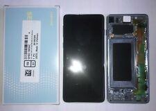Display LCD Touch + Frame ORIGINALE SAMSUNG Galaxy S10 G973F NERO BLACK + KIT