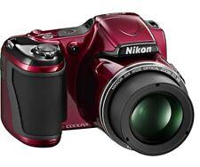 Nikon COOLPIX L810 16.1MP Digital Camera - Red + FREE bag