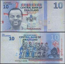 Swaziland 10 Lilangeni, 2010, P-36, UNC