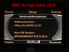 Audi MMI3G High Navi Karten Aktualisierung Europa 2018 + Firmware