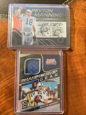 2020 Spectra Football Peyton Manning Super Bowl Championship Gear Lot (2)