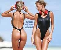 Sexy One Piece Swimsuit Thong bathing suit Monokini Bodysuit Cute women swimwear
