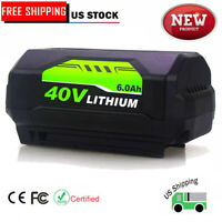 6000mAh Replace for Ryobi 40V Battery Lithium Ion OP4026A OP40261 OP4050A OP4040