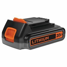 Black & Decker LBXR2020 OPE 20-Volt Max 2.0 Ah Lithium-Ion Battery